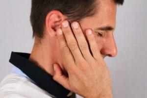 Заложен нос и ухо, болит голова