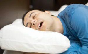 Открыт рот во сне