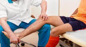 Боль в колене сильнее после физиотерапии