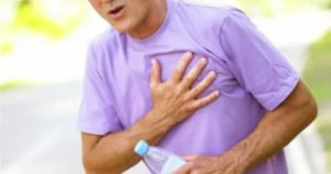 Немеет в груди, повышенное давление