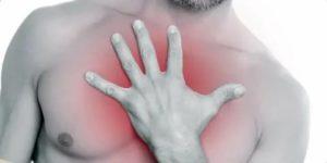 Ощущение давления в груди