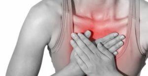 Тяжесть в груди, болит шея