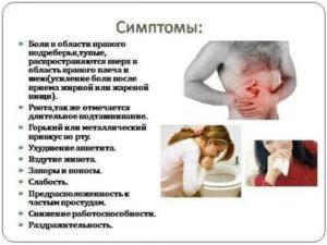 Повышенная температура, боль в животе и груди, диарея