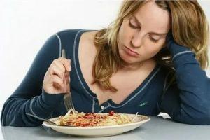 Слабость, плохое зрение после еды