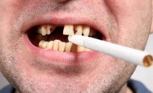 Привкус сигарет во рту