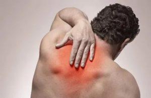 Сильно болит шея и спина между лопатками