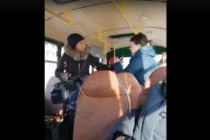 Преобморочное состояние в автобусе