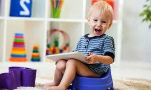 Как приучить 2-летнего ребенка к горшку?