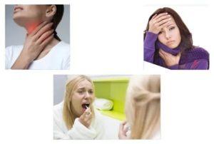 Болит в горле при глотании и зевании