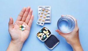 Совместный приём лекарств.