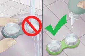 Сколько дней можно хранить линзы в контейнере с раствором?