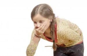 Боль в животе и сильный кашель у ребенка