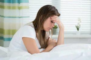 Выделения, раздражительность, сонливость, слабость после месячных