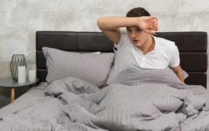Просыпаюсь в холодном поту, температура, слабость