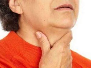 Пониженное давление, ком в горле