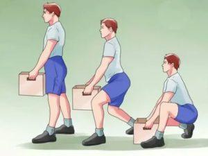 Выделения после поднятия тяжестей