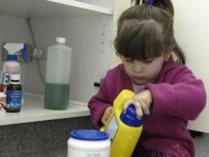 Ребенок отравился чугунной пылью, что делать?