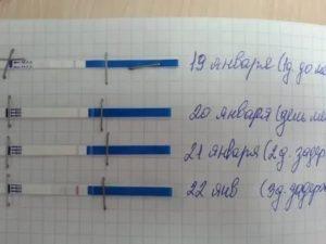 Вторая полоска на тесте, что это значит?