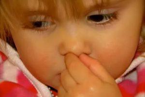 У ребенка хлюпает в носу