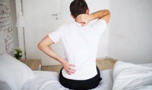 Субфебрильная температура, боль в спине