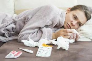 Сильная слабость при простуде
