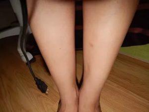 Углубление на ноге