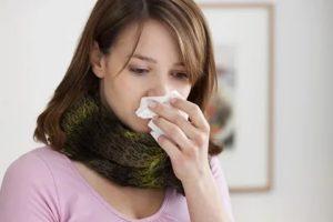 Вазомоторный ринит, сильный кашель с осени