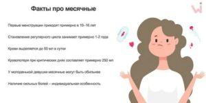 В 12,5 лет у девочки ещё нет месячных